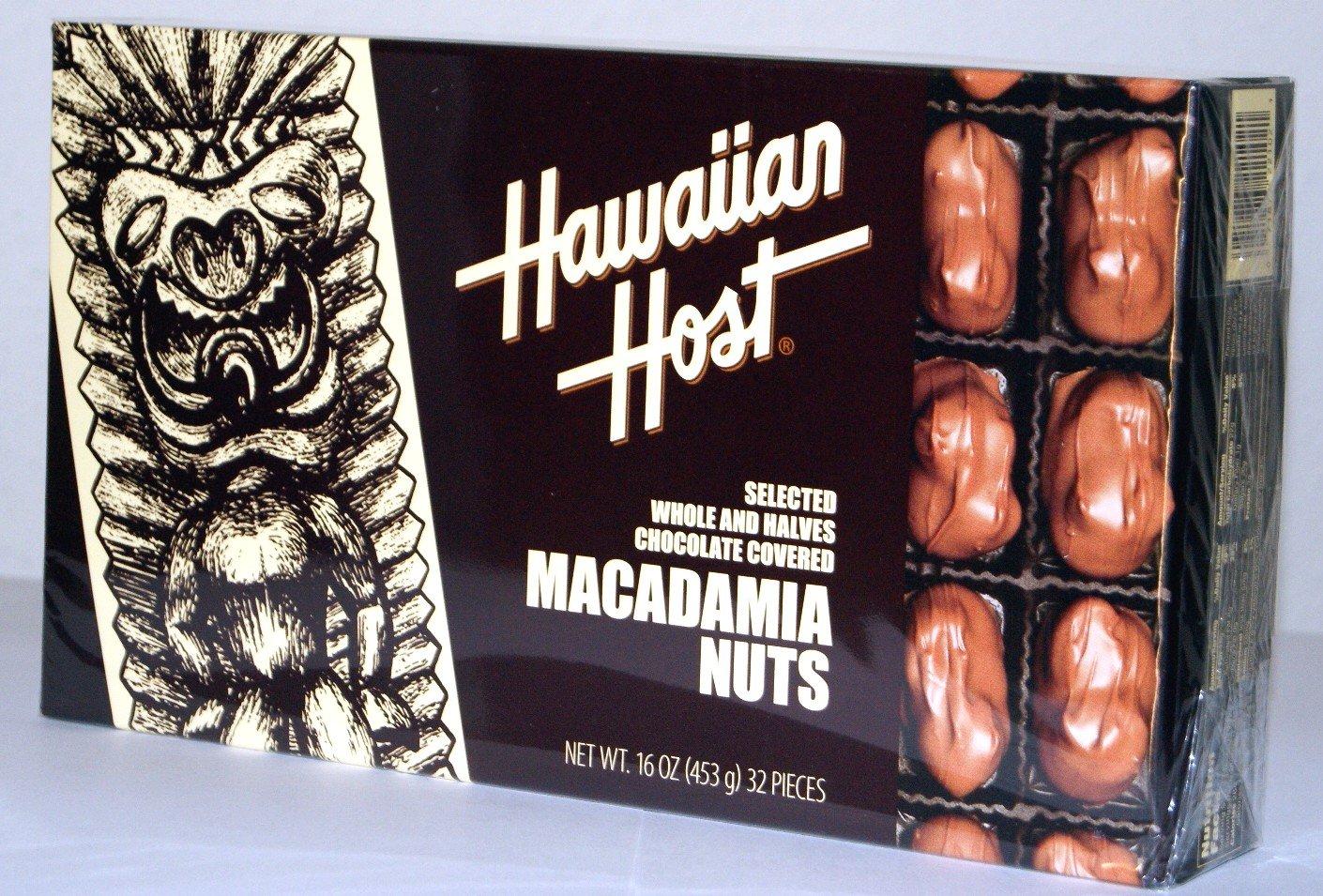 Amazon.com : Hawaiian Host SELECTED WHOLE AND HALVES CHOCOLATE ...