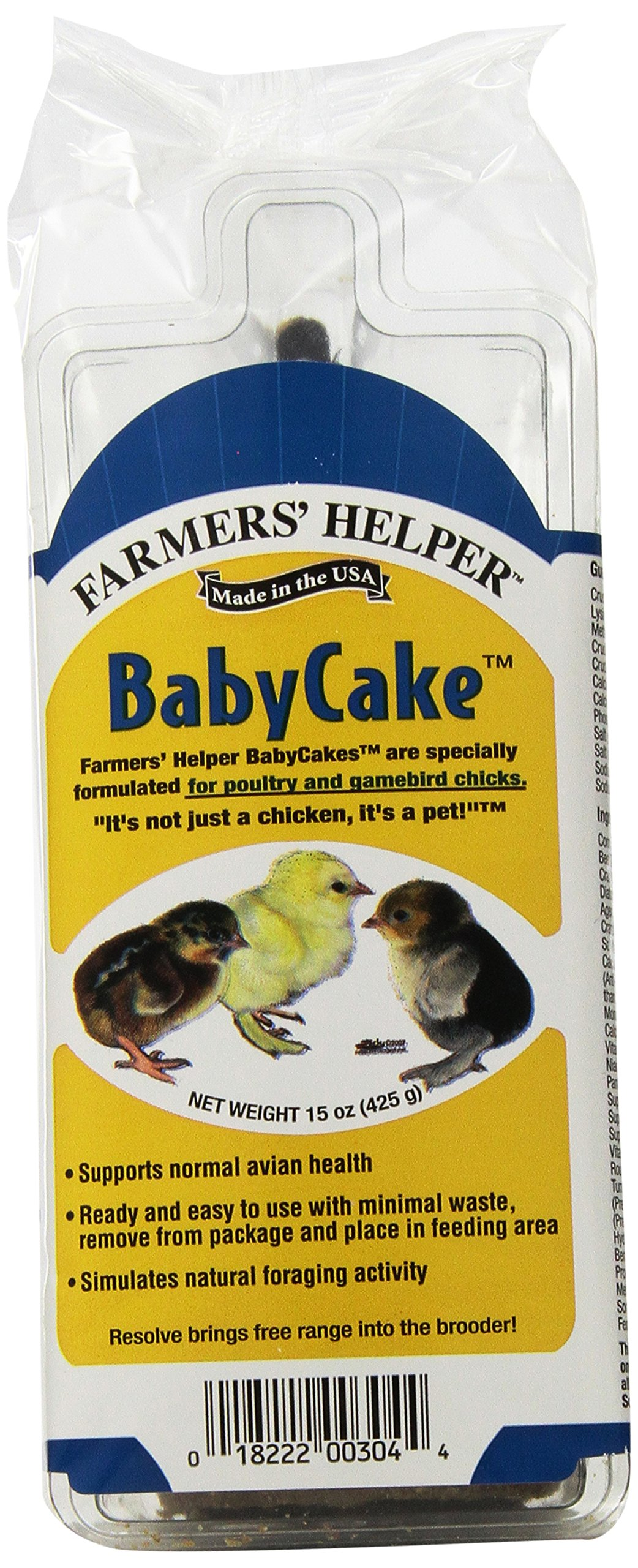 C & S Products  Baby Cakes, For Chicks Pack of 8 by C & S Products