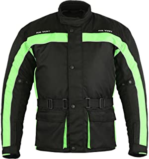 Xtra Large Motorbike Jackets Bike Rider Waterproof High Quality Designer Motorcycle Coat Shirt Gears Bartack Sewed All Weather Jacket for Mens