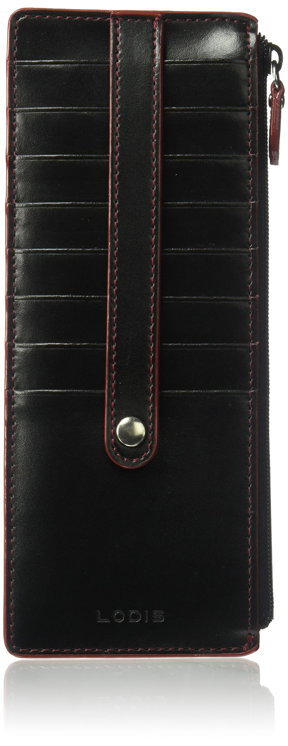 Lodis Audrey Rfid Credit Card Case With Zip Pocket Credit Card Holder by Lodis