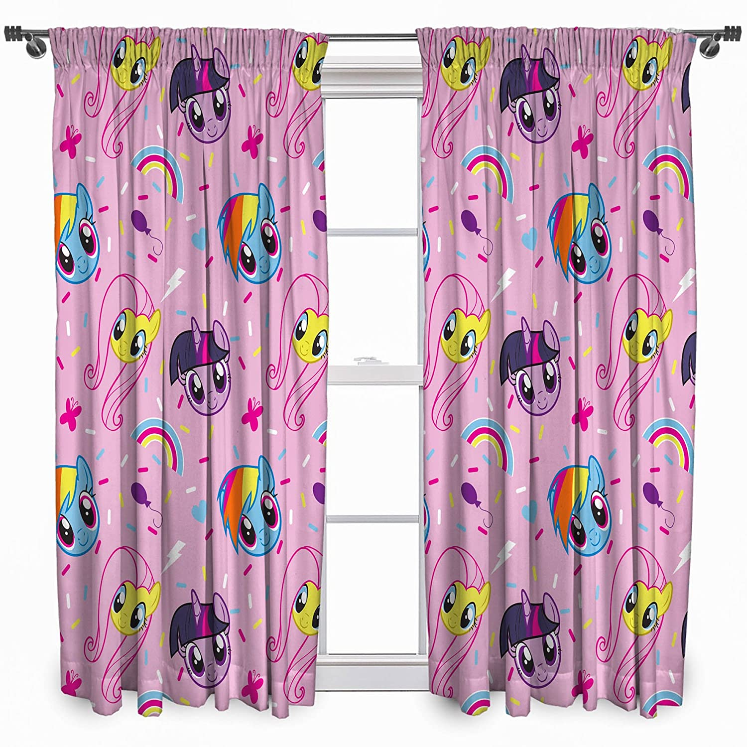 My Little Pony Equestria Curtains Character World MLPEQU54001UK