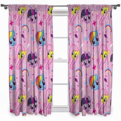 My Little Pony Equestria Curtains