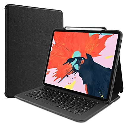 """c5c73e4b007 ProCase Keyboard Case for iPad Pro 12.9"""" 2018, Lightweight Folio Stand  Protective Smart Book"""