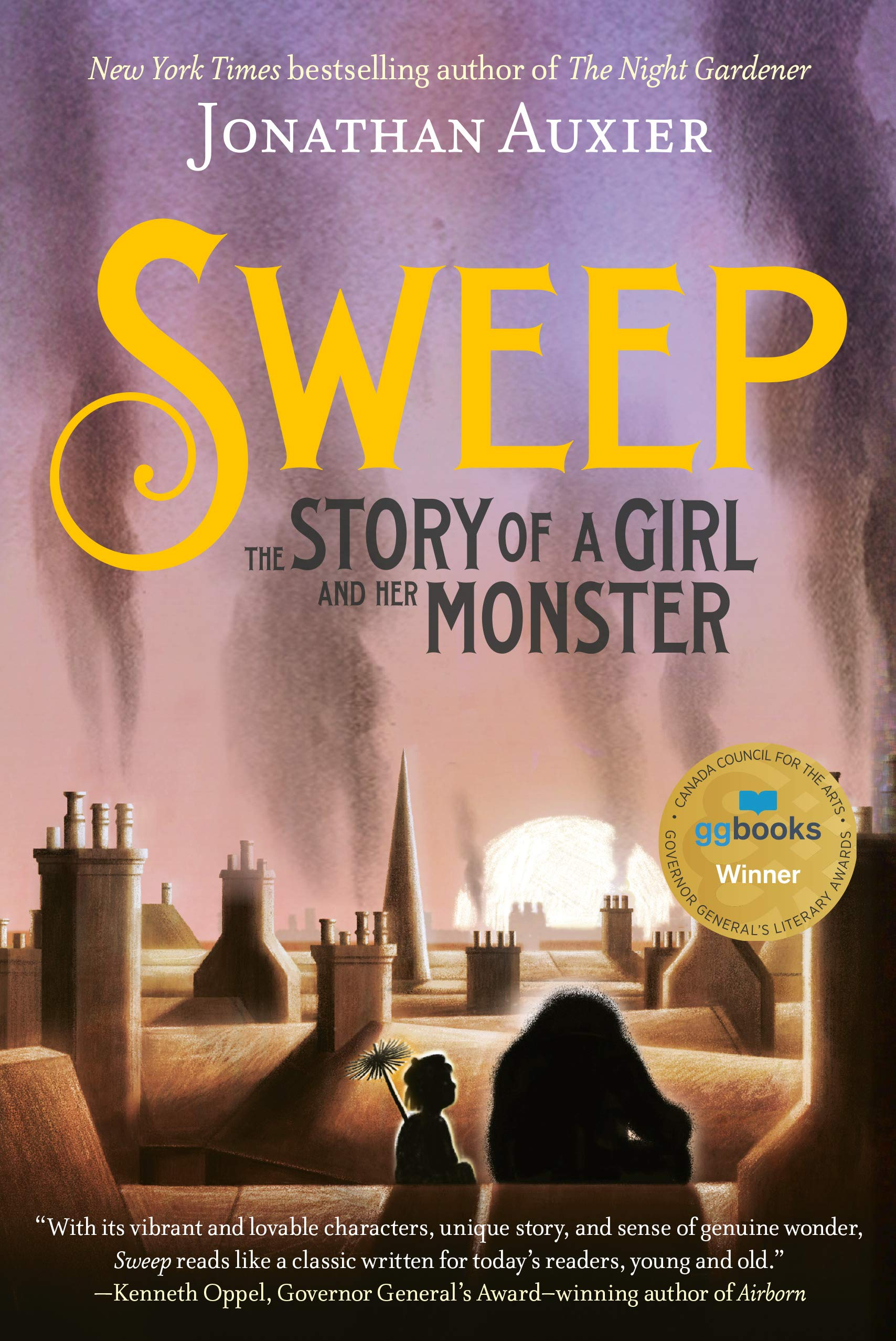 Sweep: The Story of a Girl and Her Monster: Jonathan Auxier ...