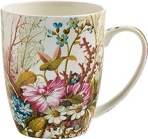 Maxwell & Williams Kilburn, Cup, Mug, for Coffee, Ocean Fantasy, Porcelain, WK02400