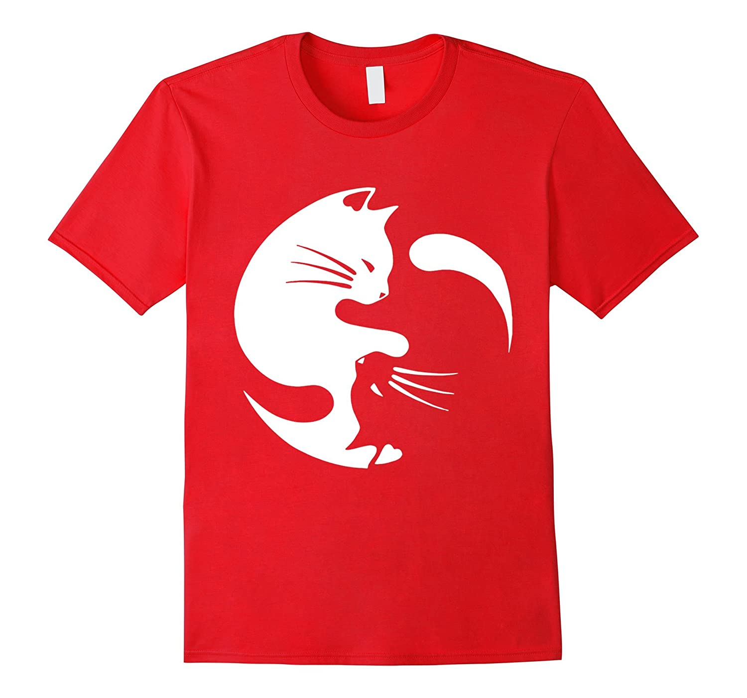 Cat Yin-Yang - Relauched Limited Edition T-Shirt-CL