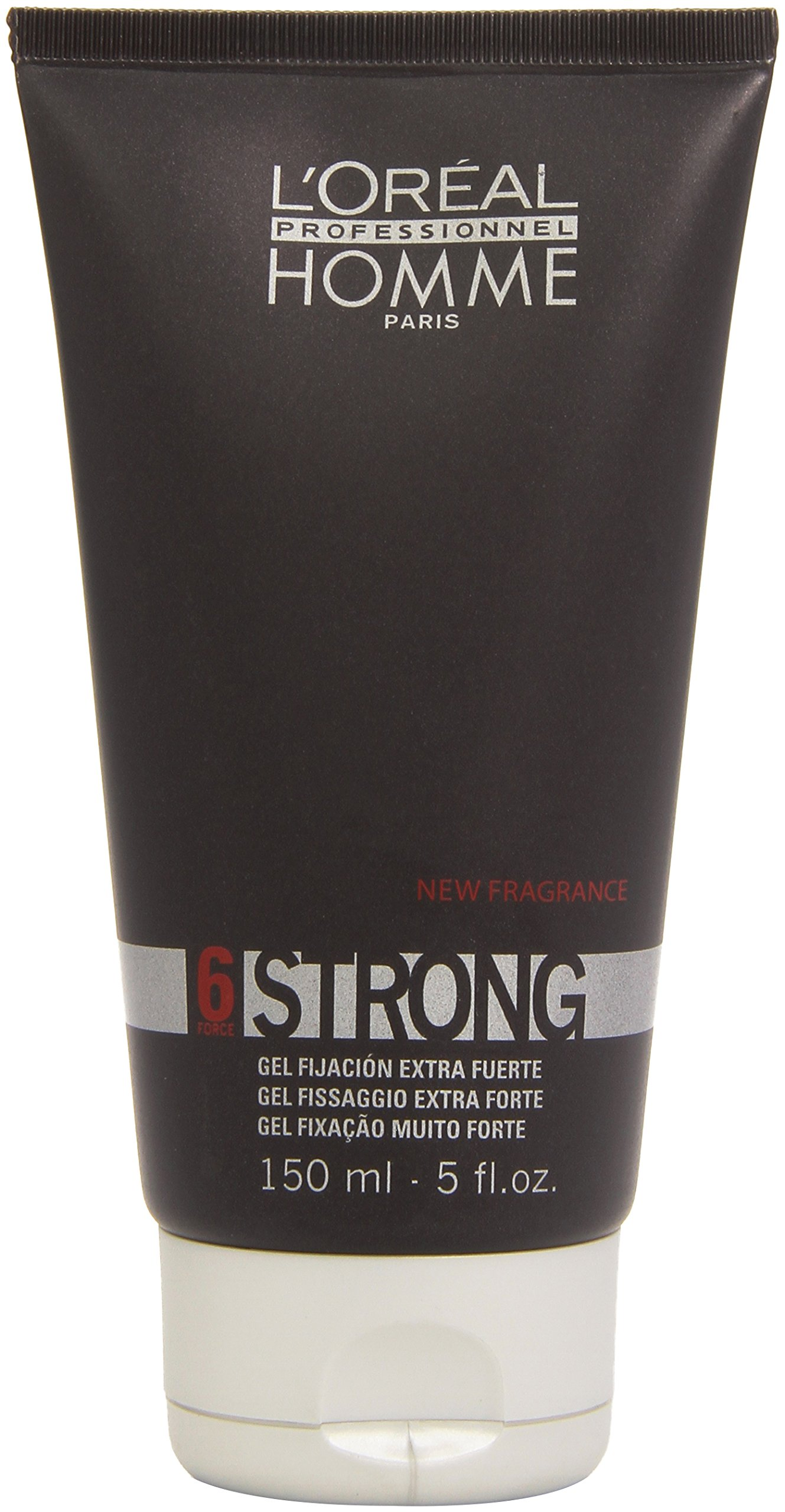 L'Oreal Homme Strong Hold Gel 6 - 5 oz