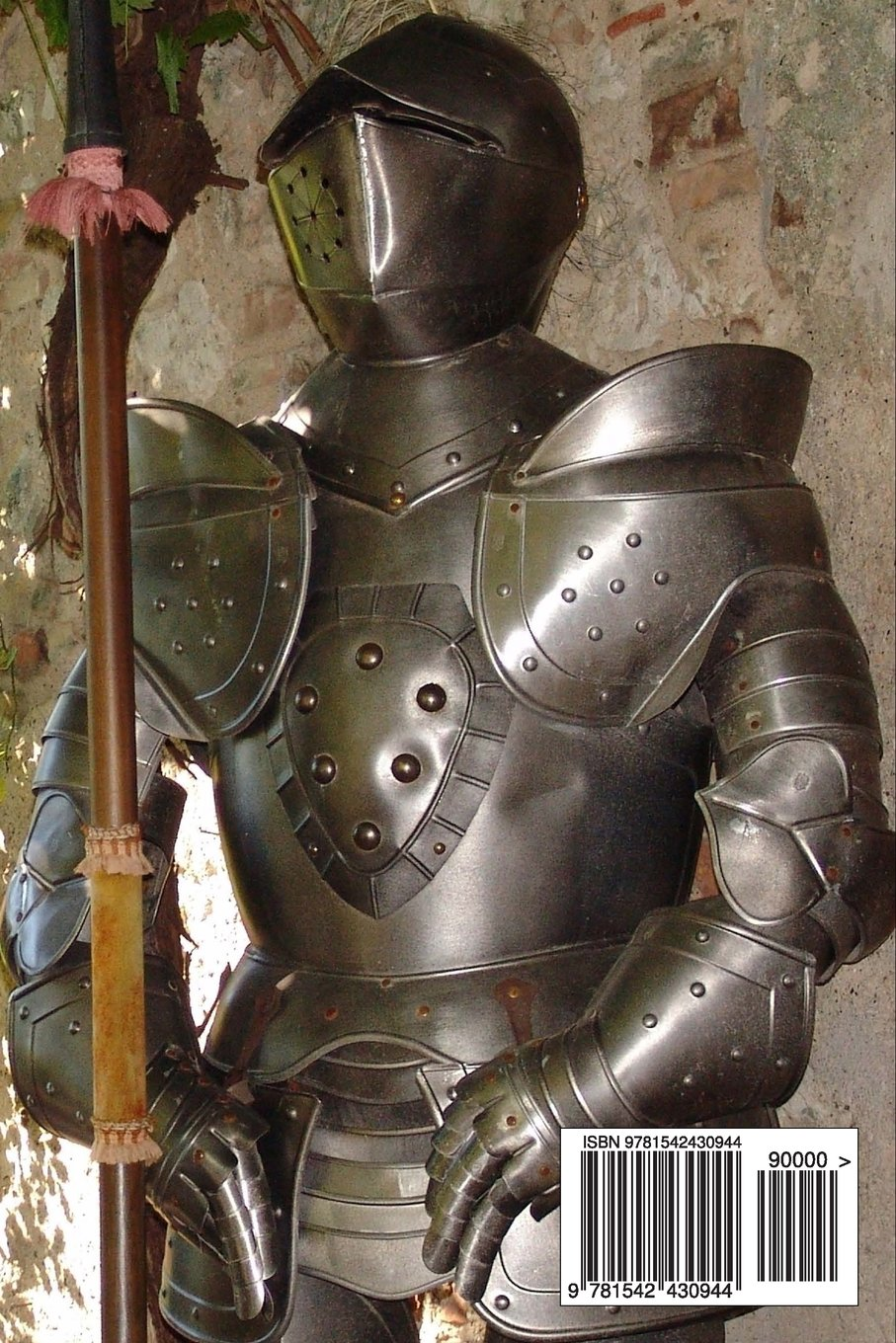 A Battle Ready Medieval Crusader with Armor and Helmet