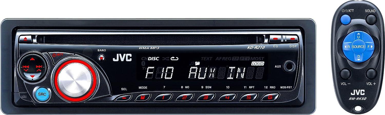 jvc kd r210 4 x 50 watts cd receiver electronics amazon ca rh amazon ca jvc kd r200 manual jvc kd-r210 manual set clock