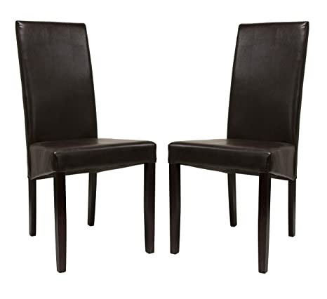 Pleasing Amazon Com Premium Tobago Wenge Dining Chairs Set By Forskolin Free Trial Chair Design Images Forskolin Free Trialorg