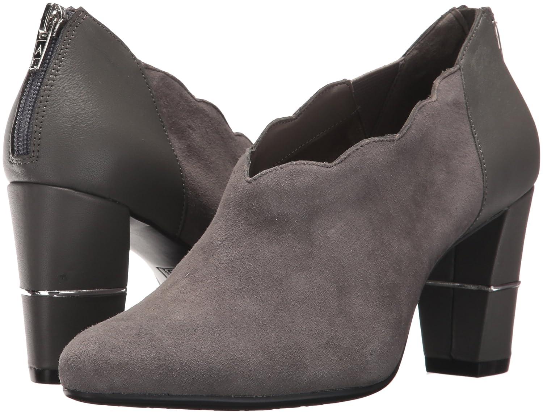 Aerosoles Women's Teleport Ankle Boot B073SQZ61B 10.5 B(M) US|Dark Gray Suede