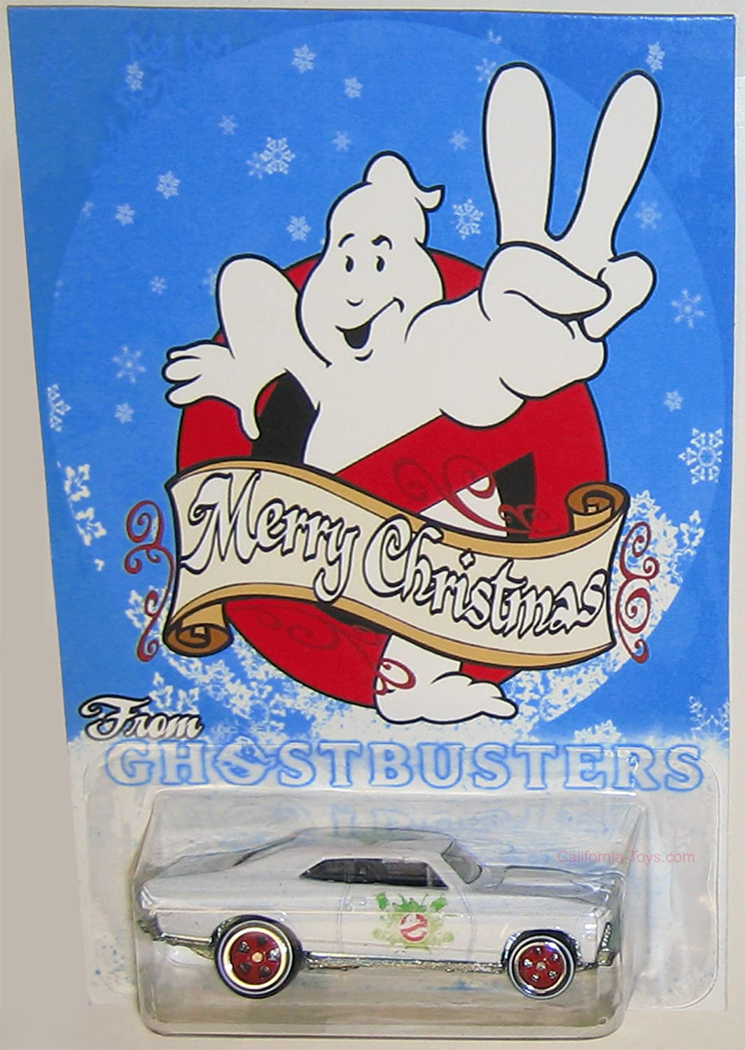 Buy 1966 Chevy Nova Hot Wheels Merry Christmas From Ghostbusters