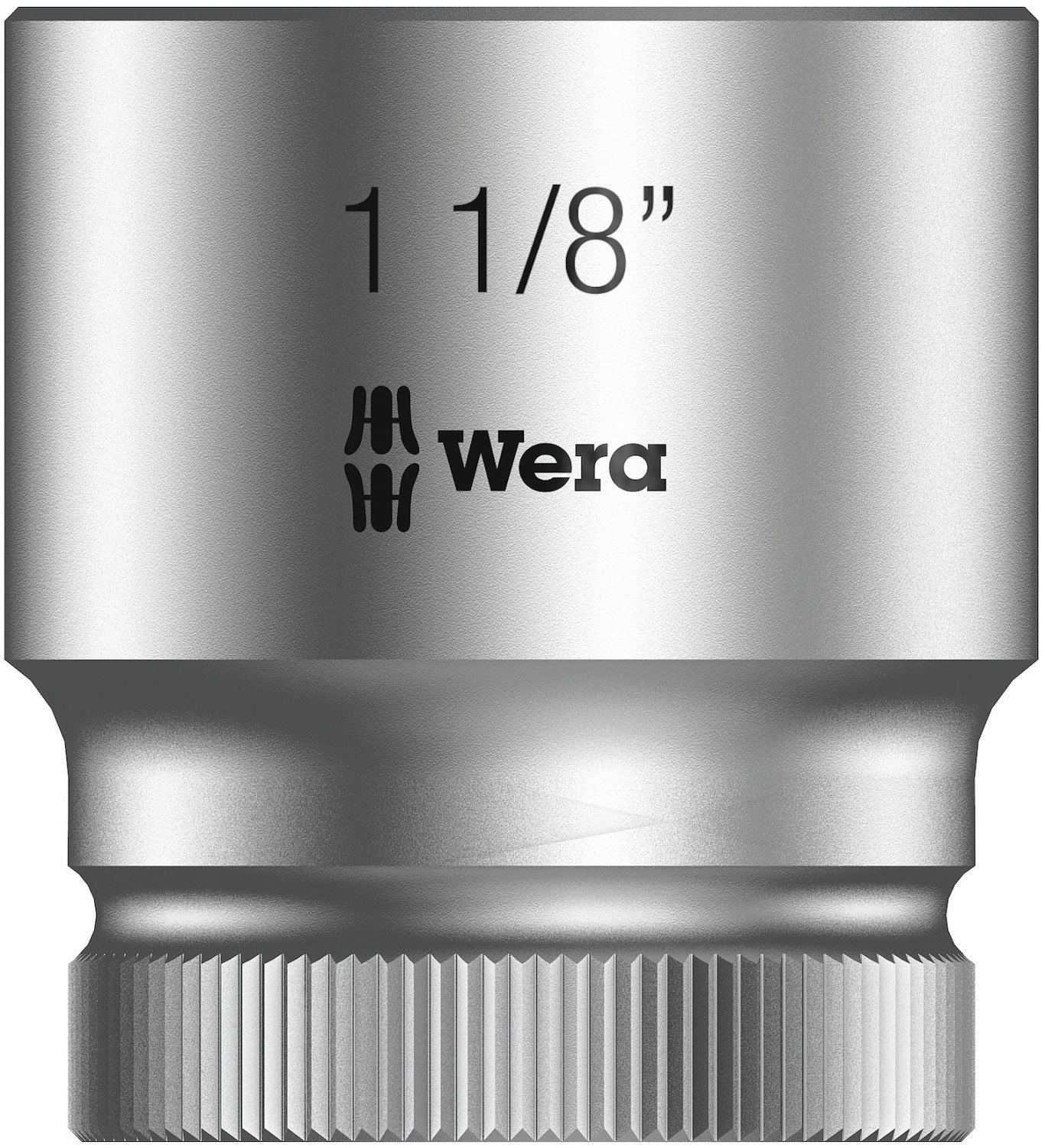 Hex Head 22mm x Length 37mm Wera Zyklop 8790 HMC 1//2-Inch Socket