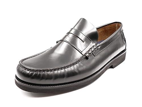 Zapatos Hombre Tipo Castellano de la Marca FLUCHOS, en Florentick Color Negro - M F0047