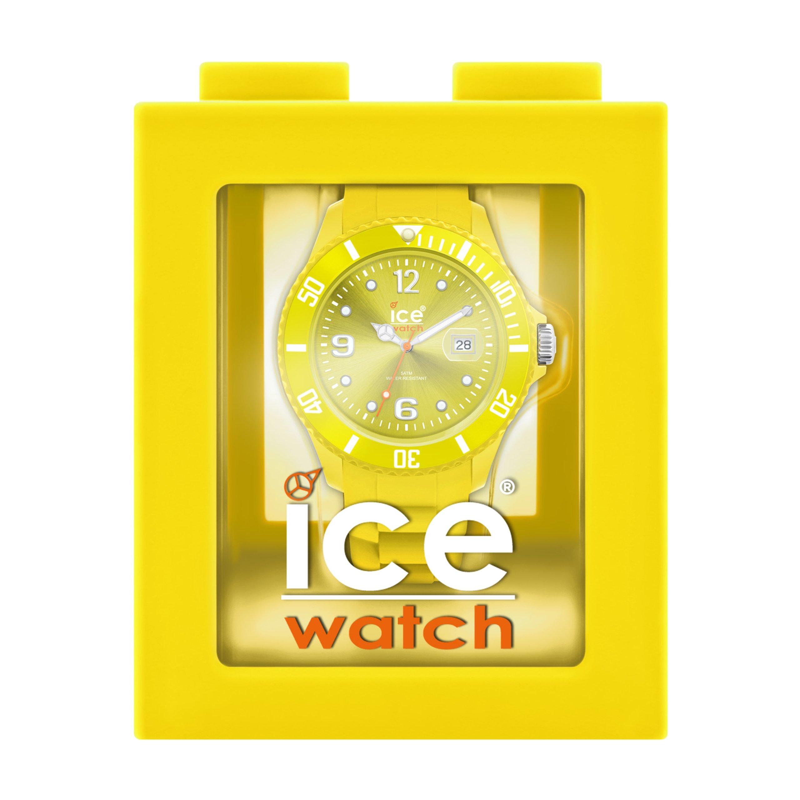 Ice-Watch SI.AA.U.S Unisex Sili Summer Aurora Dial Silicon Strap Watch