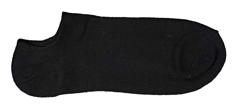 6 /&12 PAIA MIRP ITALIA Fantasmini Calzini Corti Sneaker Calze Classico Invisibile in Cotone Calze Corte Traspiranti Basse UNISEX Taglia: 38-44 EU/… Nero e Bianco 97/% COTONE Uomo Donna