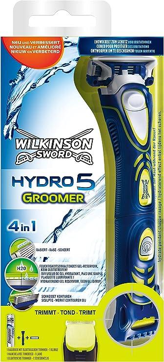 Wilkinson Sword Hydro 5 Groomer - Máquina de Afeitar Recargable de ...