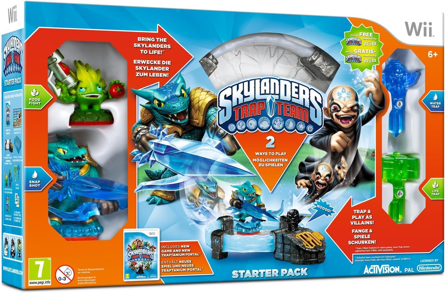Skylanders Trap Team: Starter Pack (Nintendo WII) [Importación Inglesa]: Amazon.es: Videojuegos