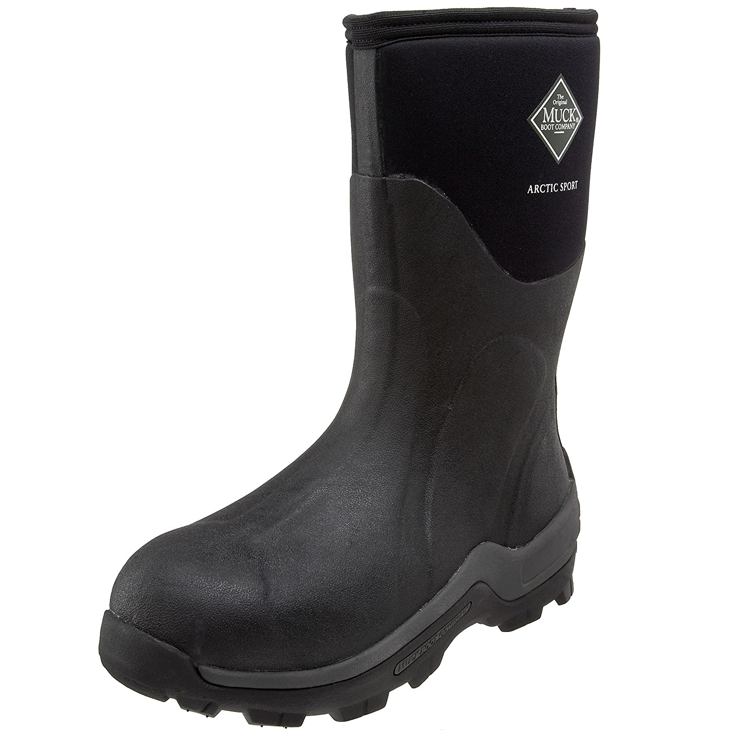The Original MuckBoots Arctic Sport Mid Outdoor Boot B002VLYING 14 M US Mens/15 M US Womens|Black