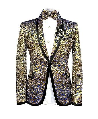 Cloudstyle Haut de costume mince affaires mariage décontraction-costume  homme-costume moderne  Amazon.fr  Vêtements et accessoires dd278eced28