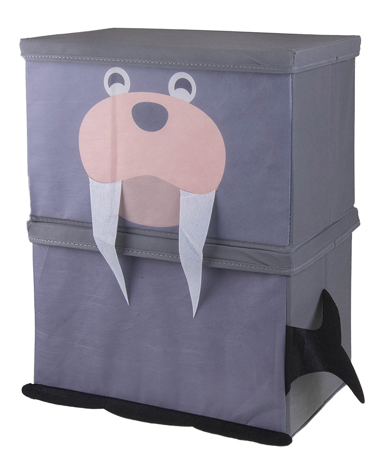 Cute Animal Collapsible Toy Storage Organizer Folding: Amazon.com: Cute Frog Stackable Storage Organizer By