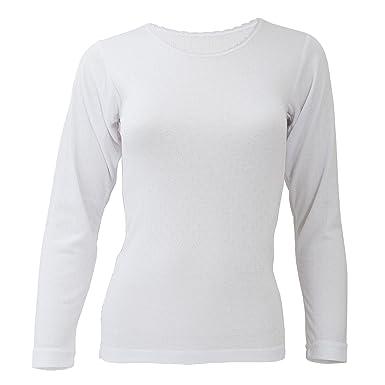 FLOSO - T-shirt thermique à manches longues - Femme (Poitrine 81-86cm e5916437e45