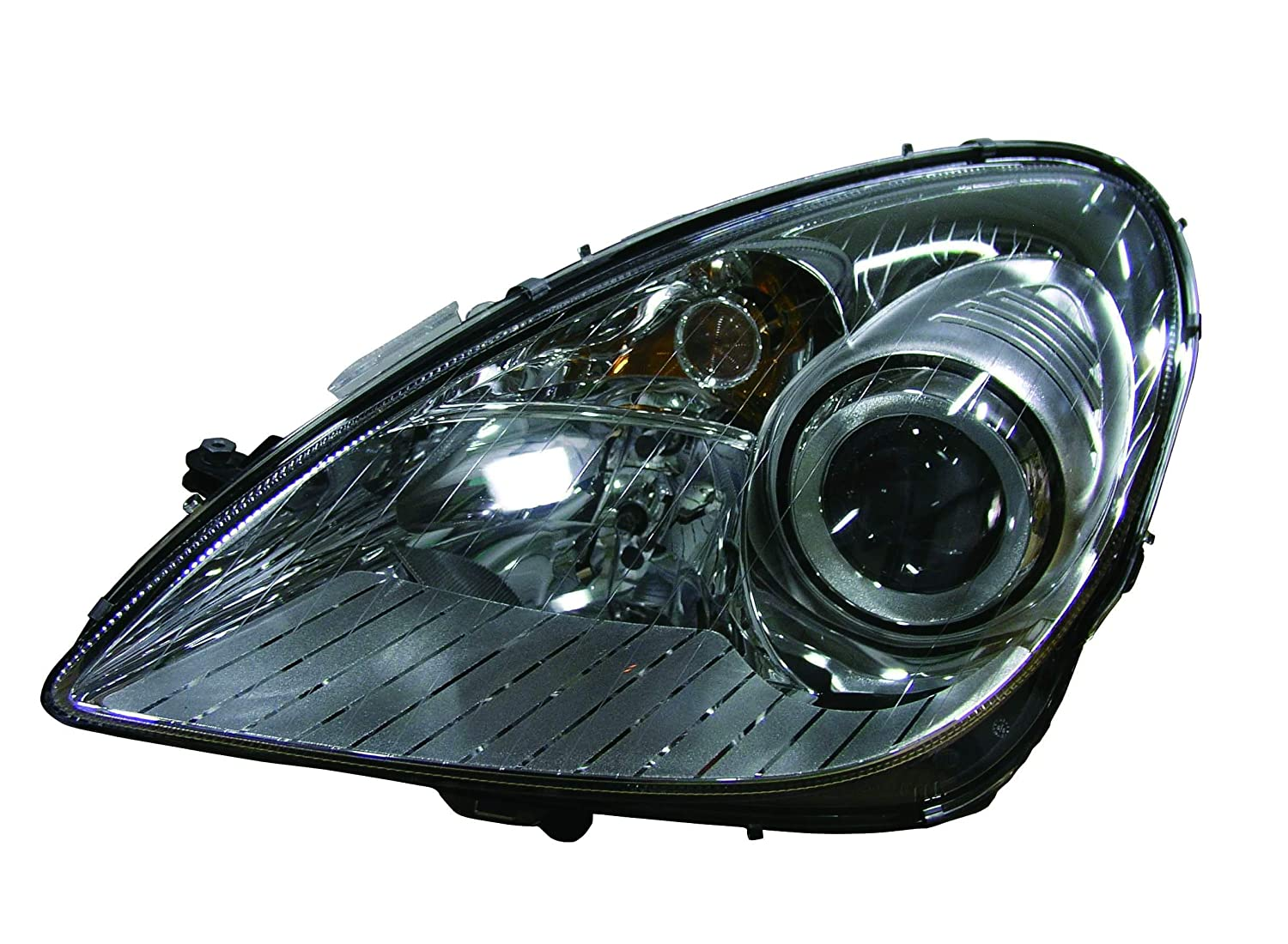 Depo 340-1128R-AS Mercedes-Benz SLK280 Passenger Side Composite Headlamp Assembly with Bulb and Socket