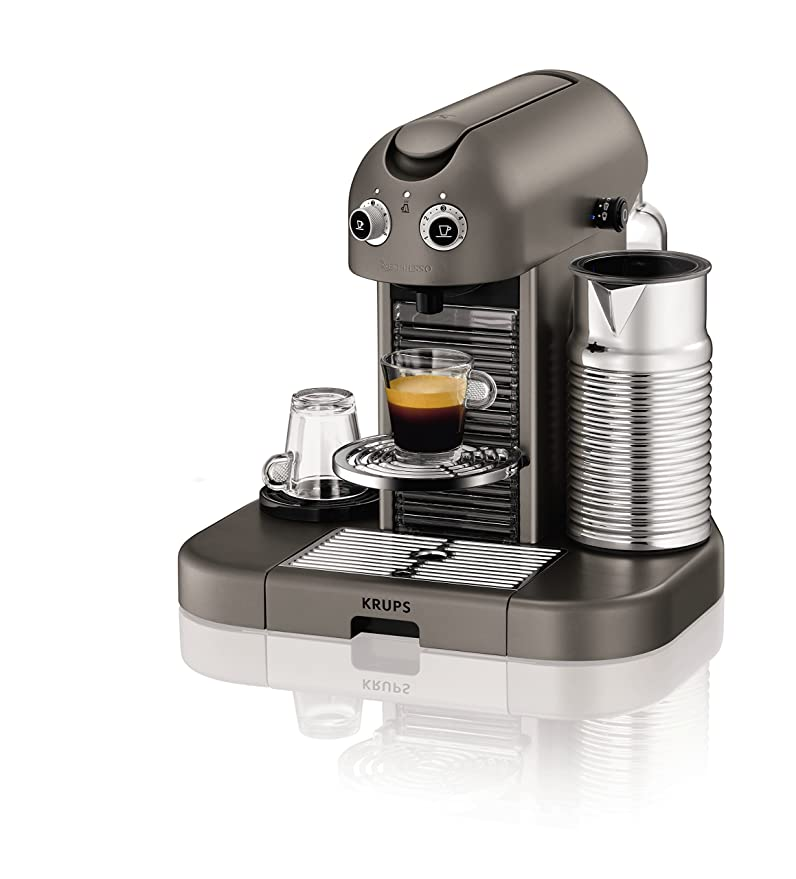 Krups XN8105 Machine à café Nespresso Maestria Gris acier (Import ...