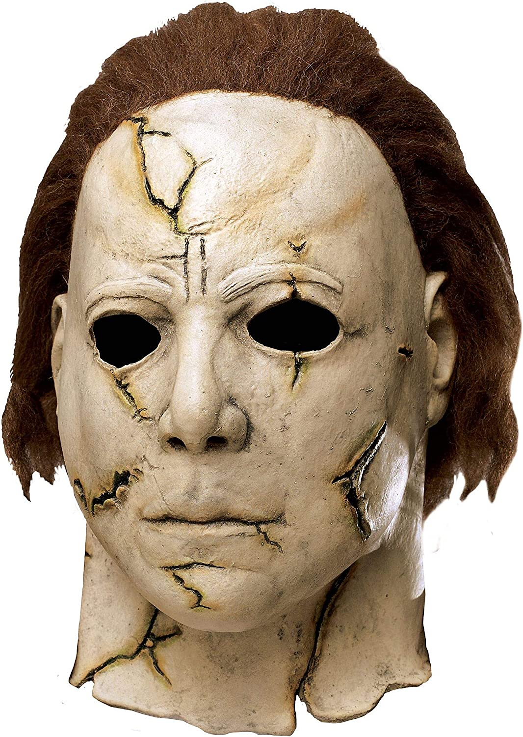 Fun World Rob Zombie's Halloween: Michael Myers Adult Mask, Beige / Red, One Size 81lKiAmi7HL