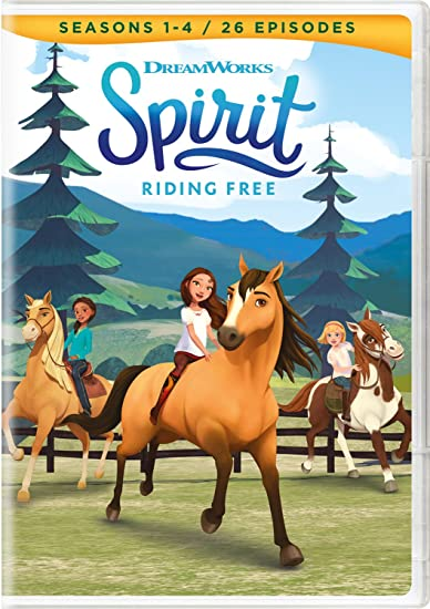 Spirit Seasons 1-4 ONLY $9.99.