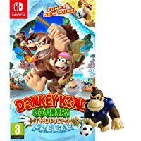 """DONKEY KONG COUNTRY""""TROPICAL FREEZ GAME + FREE DONEKY KONG OFFICIAL FIGURE"""