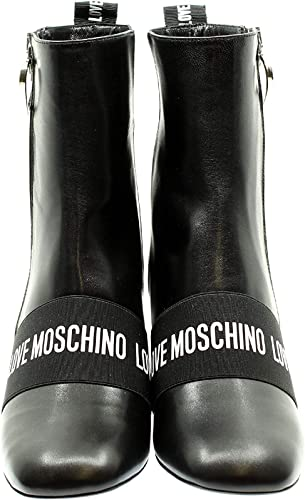 Moschino Love JA21037G Stivaletti in Ecopelle da Donna