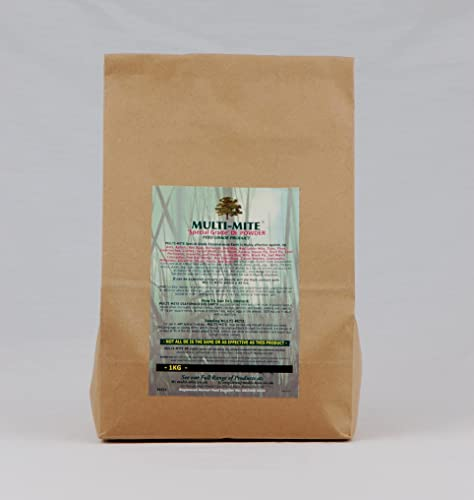 1KG DIATOMACEOUS EARTH Feed Red Mite & Worming DE Powder SPECIAL GRADE Multi-Mite®