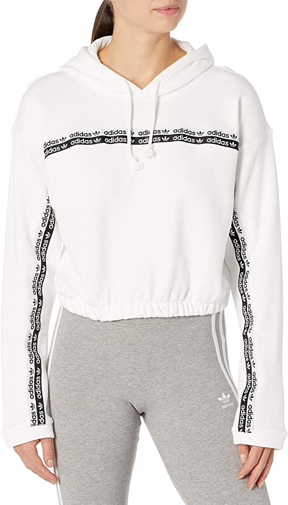 adidas Originals Cropped Hooded Sweatshirt Maillot de survêtement Femme