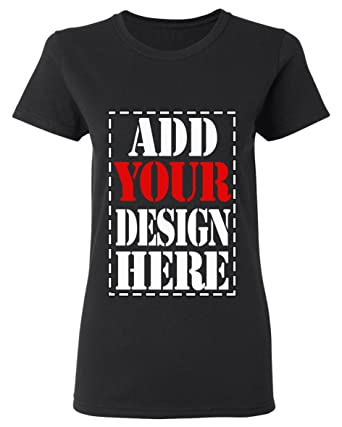 266a0018 Amazon.com: Design Your OWN Shirt Customized T-Shirt - Add Your Picture  Photo Text Print - Women Tee (Slim Fit): Clothing
