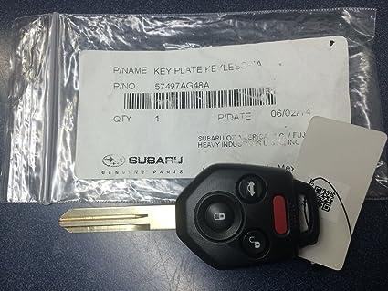 Subaru Replacement Key >> New Genuine Subaru Replacement Keyless Remote Key Fob 2009 Legacy Tribeca Outback