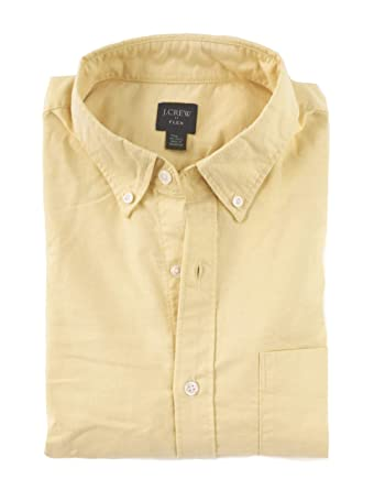 1609f511189702 J Crew Factory Men's Regular & Tall - Slim Fit Oxford Shirt at Amazon Men's  Clothing store: