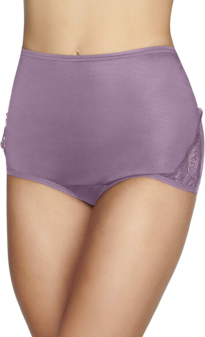 3 Pack Vanity Fair Perfectly Yours Ravissant Nylon Brief Styles 15712 /& 13001