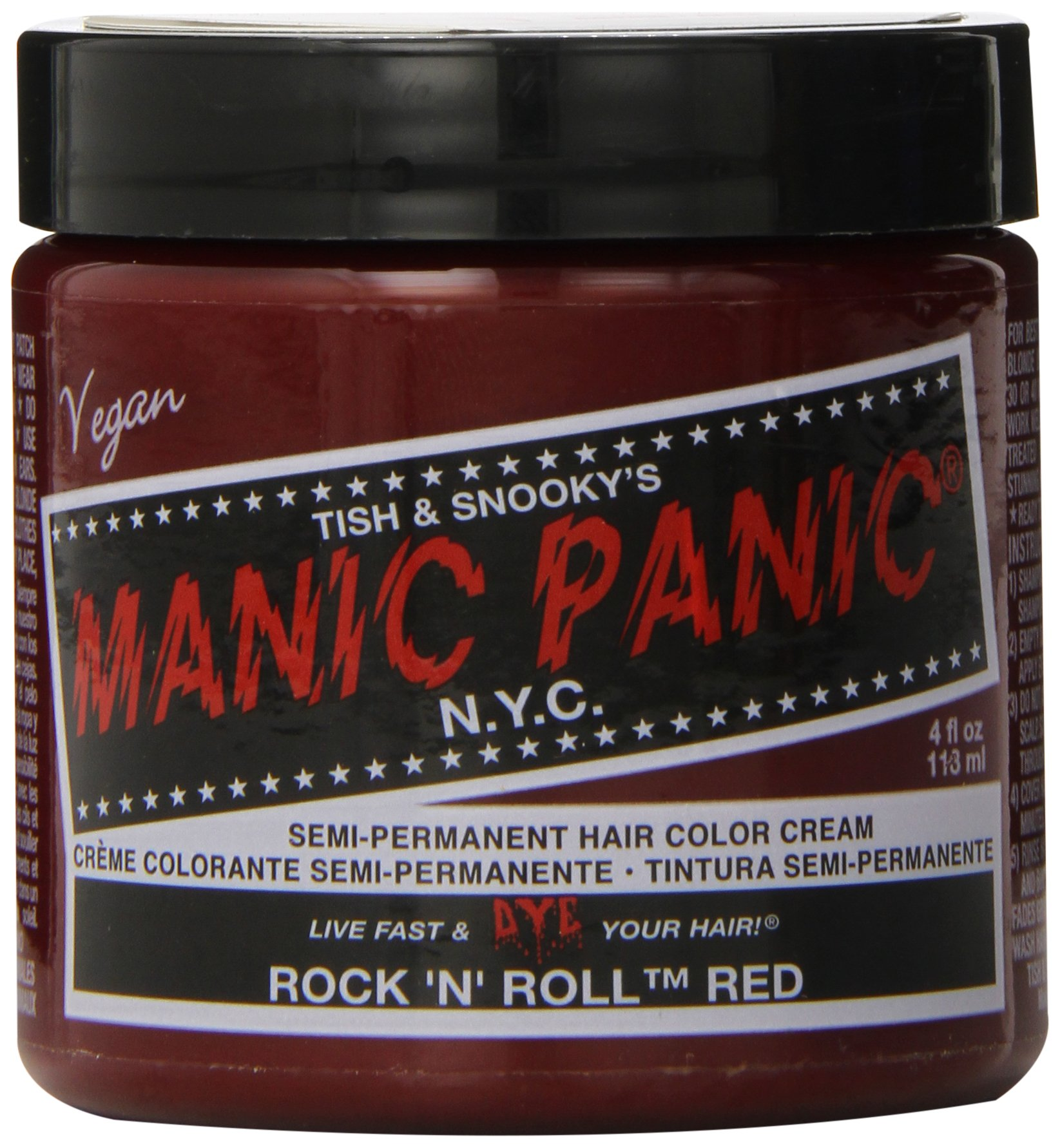 Amazon Manic Panic Pillarbox Red Cream Formula Semi Permanent