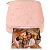 """HP Sprocket Portable 2x3"""" Instant Photo Printer (Blush Pink) Print Pictures on Zink Sticky-Backed Paper from your iOS…"""