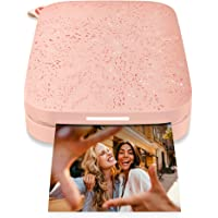 """HP Sprocket Portable Photo Printer (2nd Edition) – Instantly print 2x3"""" sticky-backed photos from your phone – Blush…"""