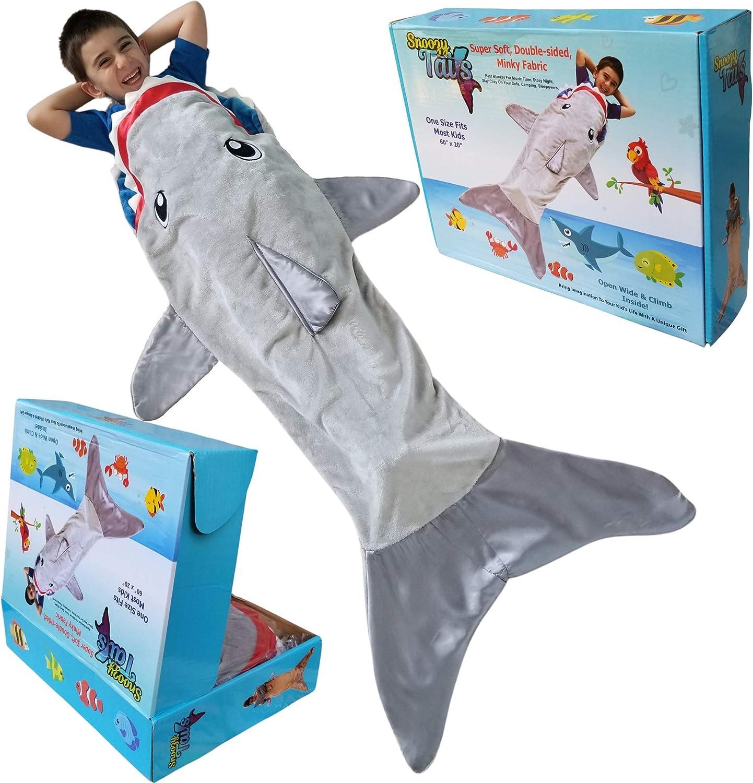 Kids Shark Tail Blankets