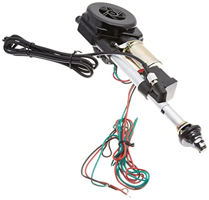 amazon com: spec-d tuning ant-105a 12v power am fm radio antenna mast  replacement kit, wiring, cable: automotive
