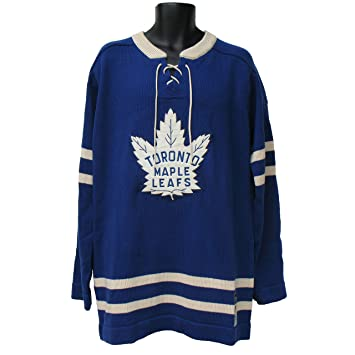 timeless design 9a630 e3450 Toronto Maple Leafs 1963-64 Classic Heritage Knit Sweater