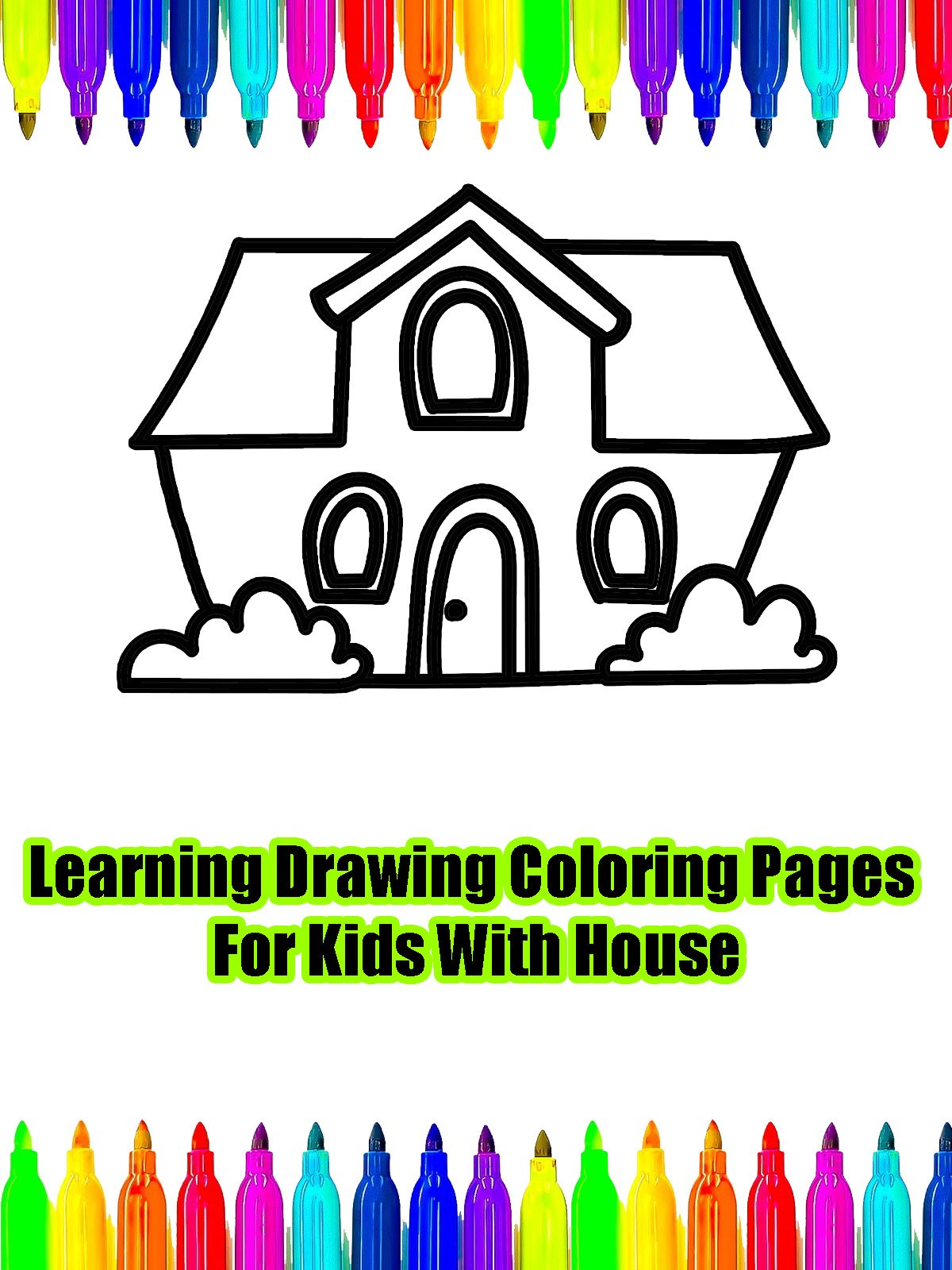 Watch Learning Drawing Coloring Pages For Kids With House   Prime Video