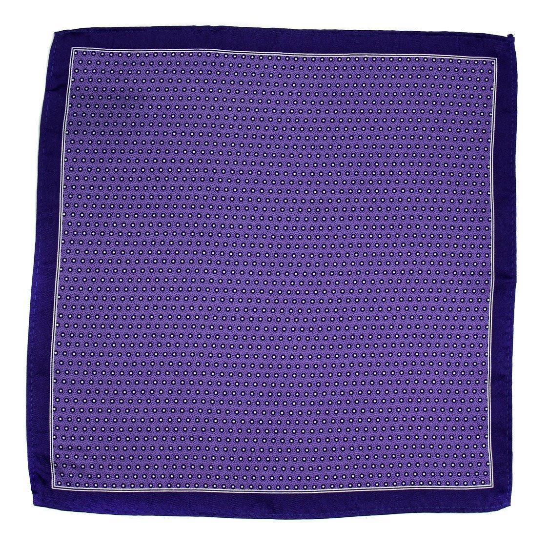 Purple Aficionado Silk Pocket Square