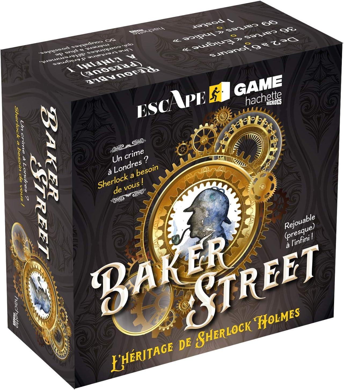 Boite Escape Game Baker Street - lHéritage de Sherlock Holmes: Lozzi, Nicolas: Amazon.es: Juguetes y juegos