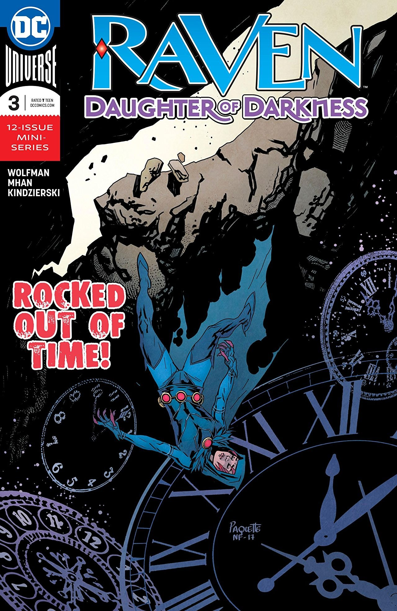 Daughter of Darkness #3 2018 NM DC Comics 1st Print Raven