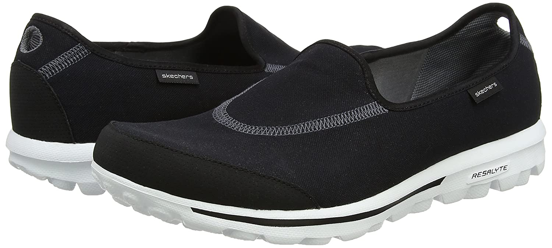 Skechers Performance B0058XKMZ2 Women's Go Walk Slip-On Walking Shoe B0058XKMZ2 Performance 6.5 B(M) US Black/White 8f1203