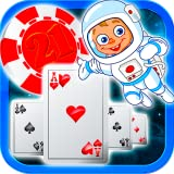 Astronaut Future Ride  Blackjack 21 Free For Kindle Fire HD Blackjack Games Free 2015 Deluxe Card Games Free Premium Free 21 Blackjack Game Classic Unique